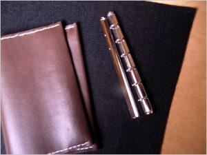 A6システム手帳の材料