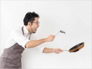 にわか料理男子のイメージ
